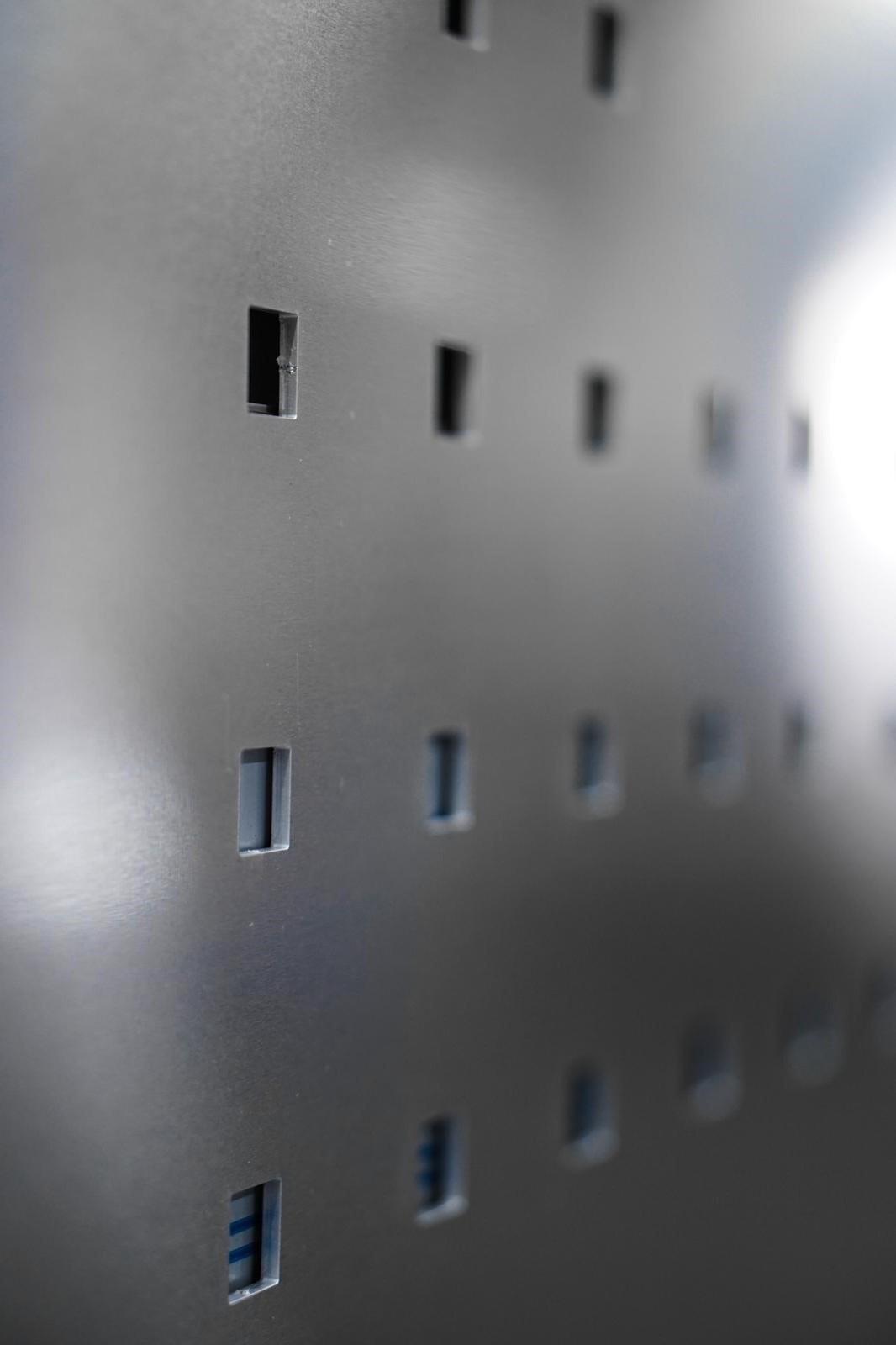 Balkonblech Laserschnitt
